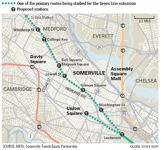 STEP: Press coverage: Green Line extension likely!