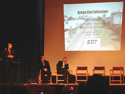 Green Line environmental planning meeting