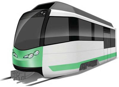 Green Line train
