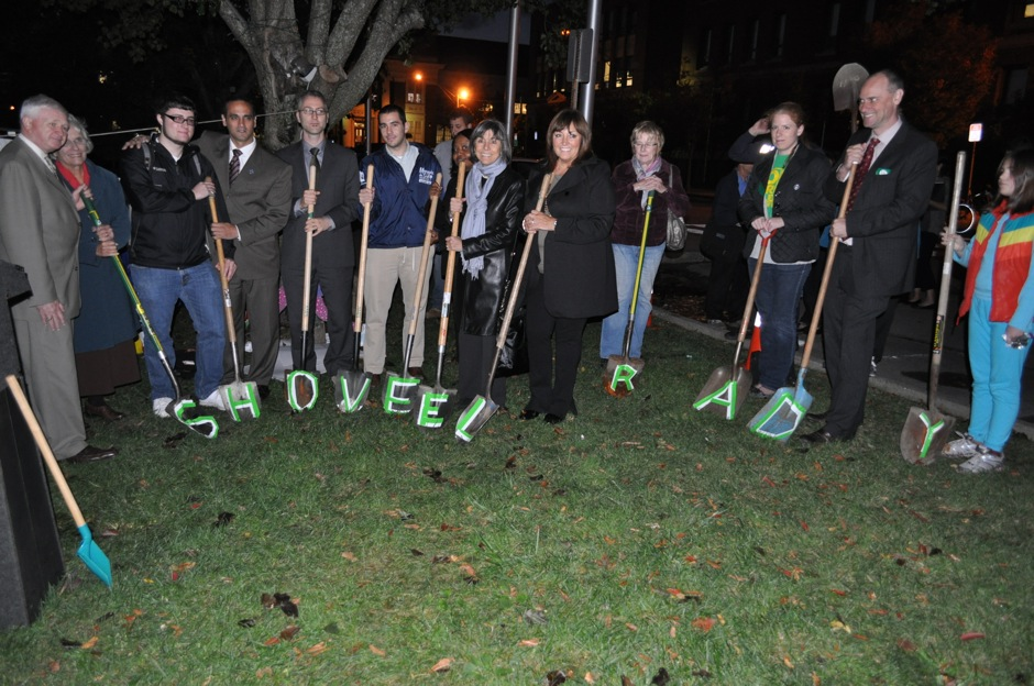 Mock Groundbreaking