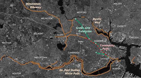 Community Path map