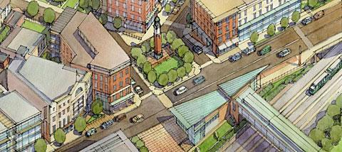 Gilman Square concept