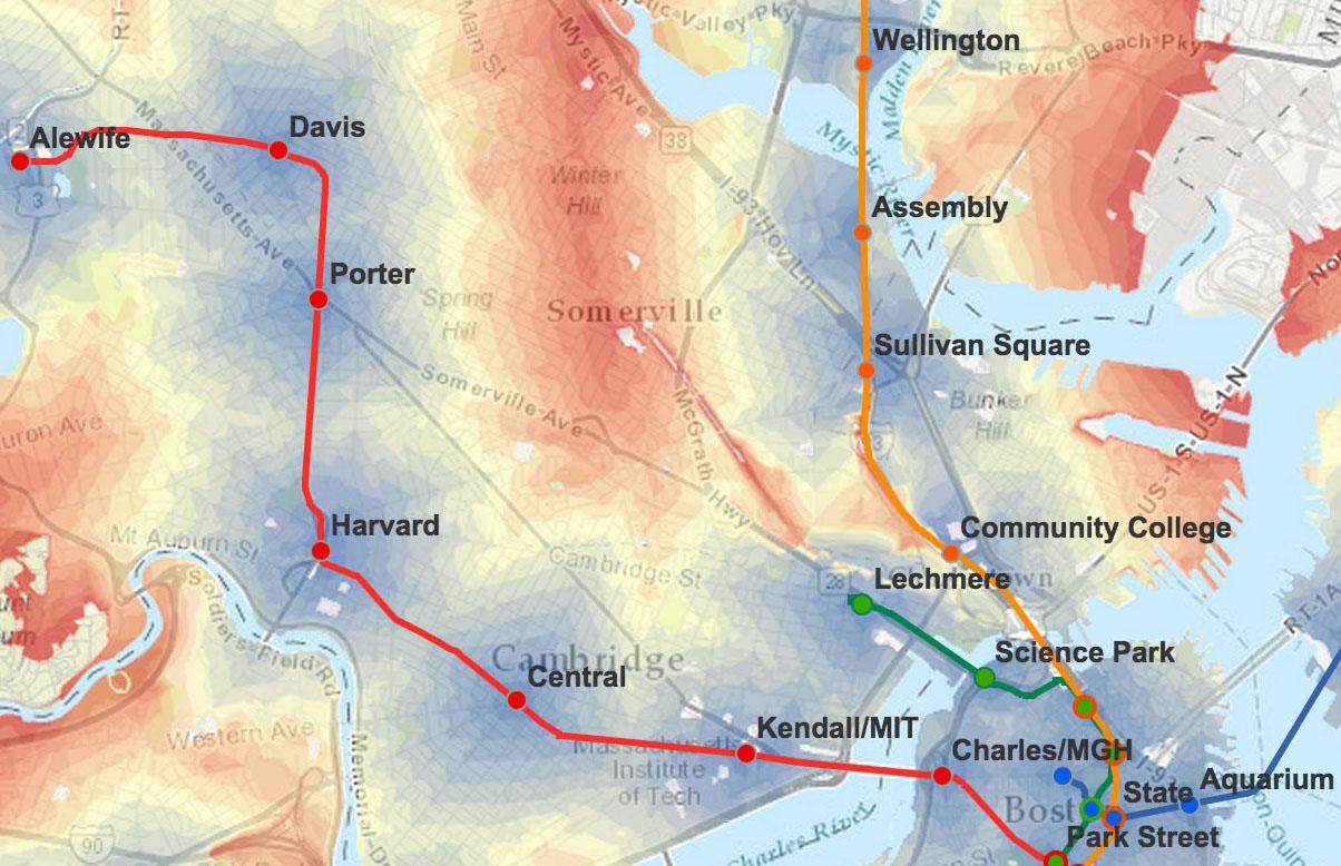 MBTAwalkmap